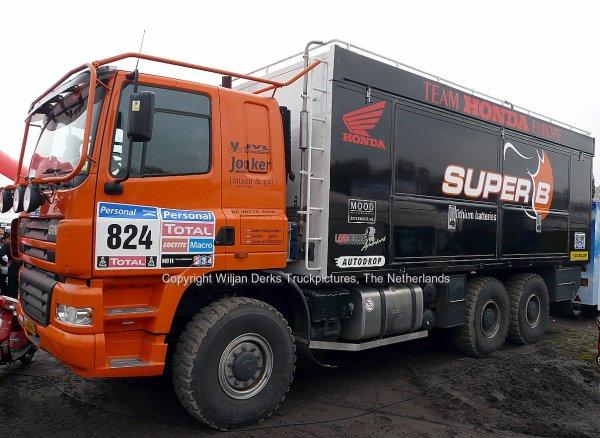 Dakar 2012 Preproloog Valkenswaard GINAF X3331 Polsvoort, The Netherlands