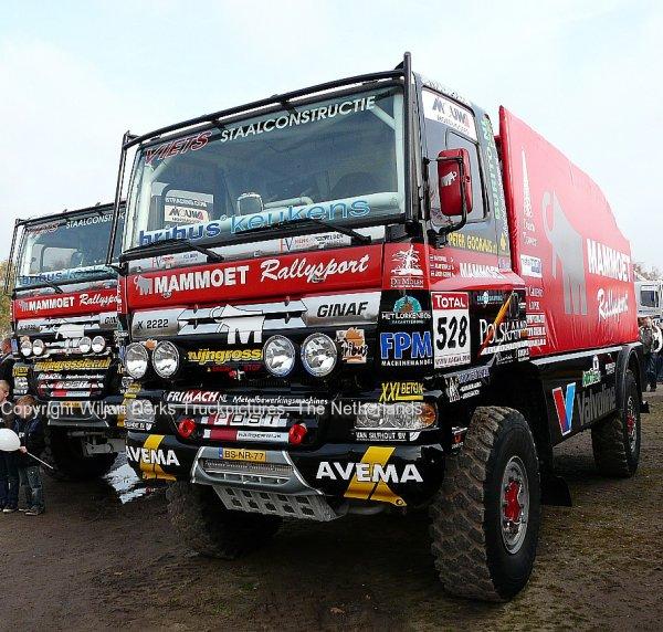 Dakar 2012 Preproloog Valkenswaard GINAF X2222 Mammoet Rallytruck 2, The Netherlands