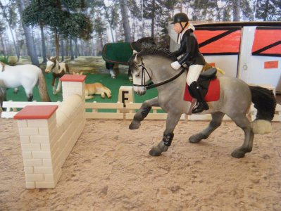 jazz cindy en cso pour chevaux schleich x3 poney club. Black Bedroom Furniture Sets. Home Design Ideas