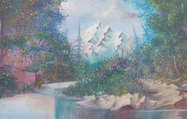 mes tableaux   paysage