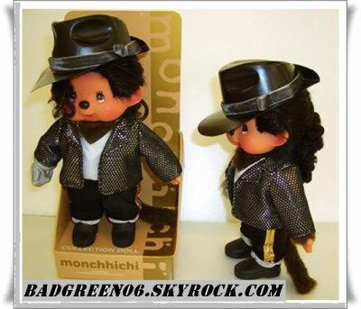 Vous voyez Michael Jackson en Fameux Doudou Kiki ?!