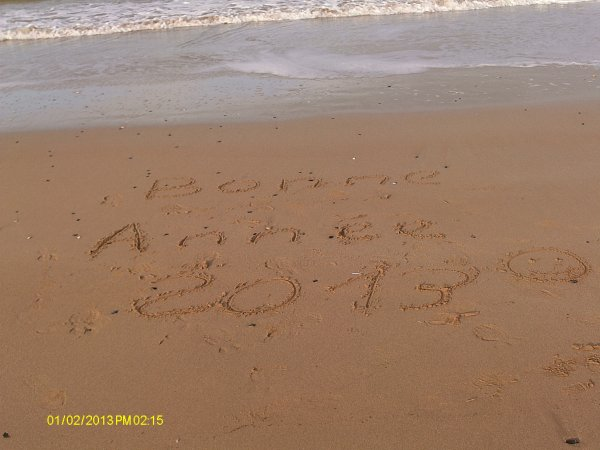 Bonne annee 2013 :)