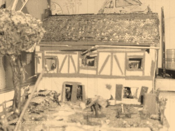 Diorama Normandie 1944 (fin)