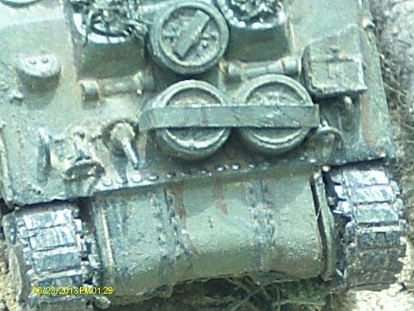 Sherman dans le pacifique (1/72) les details