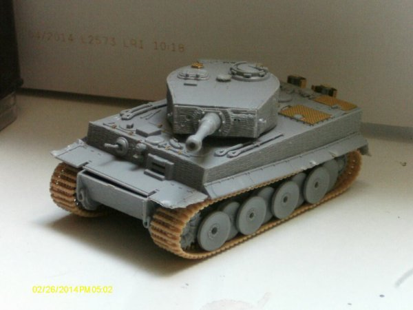 Tiger 1 (1/72) Dragon