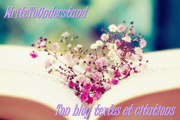 Présentation du blog ♥