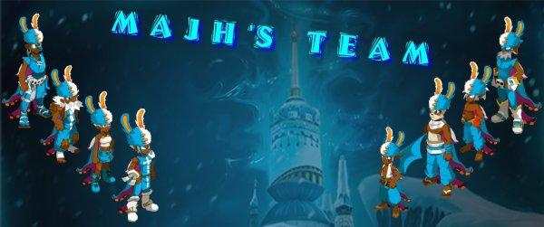 Bienvenue sur le blog de la majh's team  !