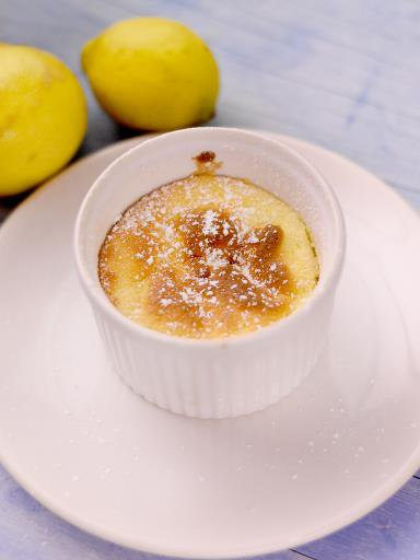 petit Soufflé au citron