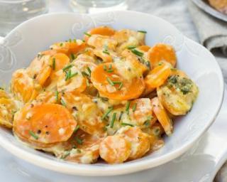Mijoté de carottes et d'endives