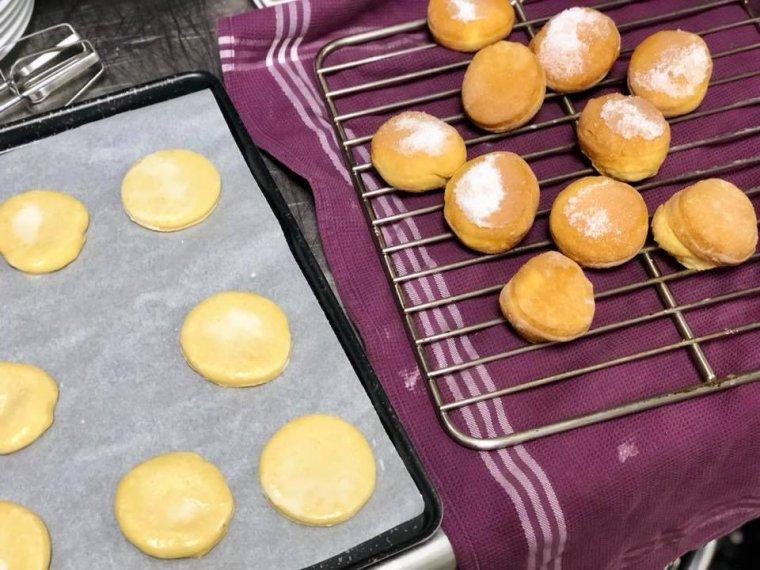 beignets au four pour mardi gras