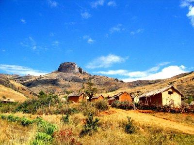 Beau paysage de Madagascar sa serai cool d'aller voir sa de plus près