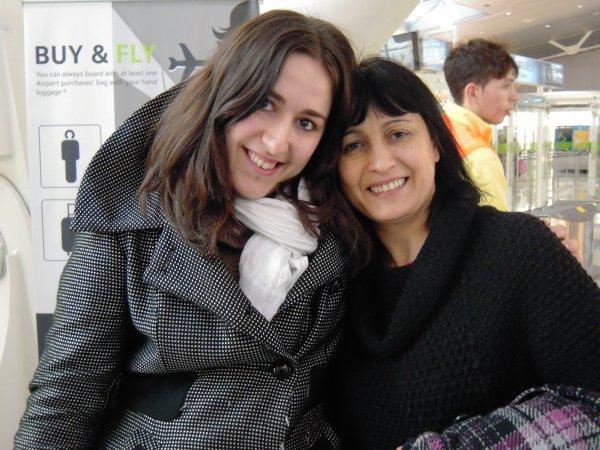 Minha tia e eu :)