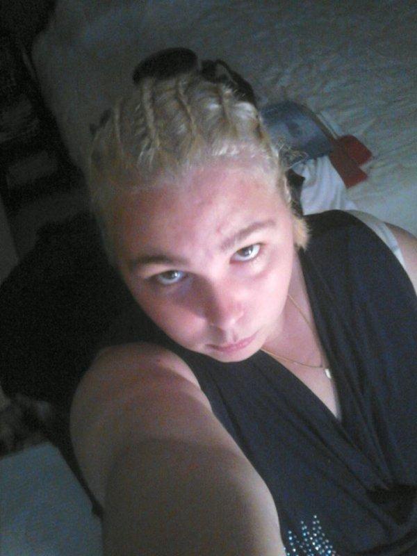 Moi blonde :)
