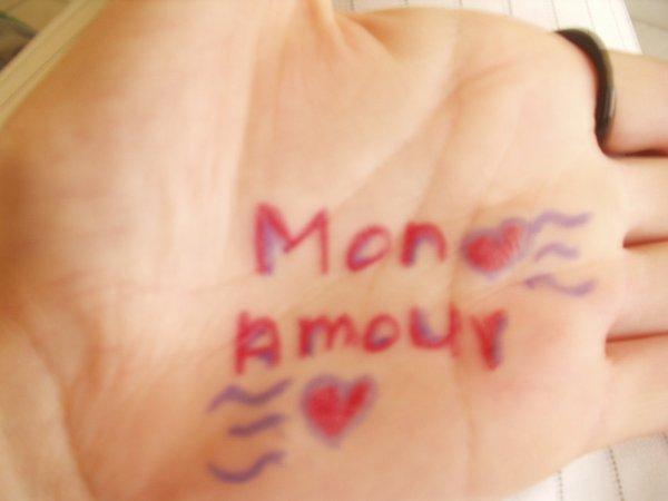 mon amour!! <3 <3