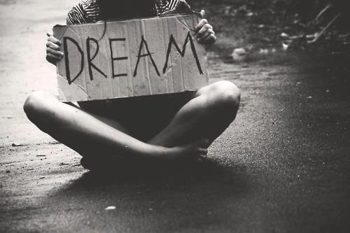 I want dreaming.