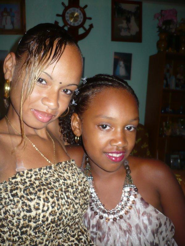 Stessy et sa soeur