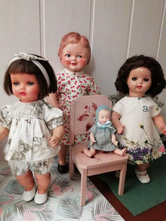 Lisette reçoit ses petites amies