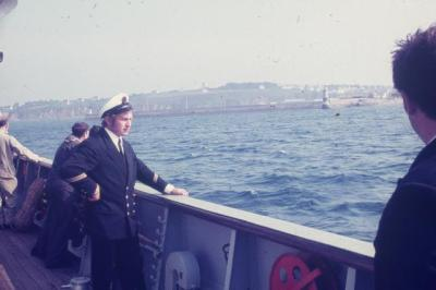 EUGENE   BERNHARD  - Militaire  Marin ,  Avant   les  Années  du   Caméléon 1968  /  1974 .