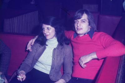 Photos Archives personnelles de M José Deregnaucourt- Daniel HEBDOSKI , les Années Caméléon  1968  -  1974 .
