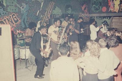 THE- SOUL- FISHER-  en concert sur la scéne du Caméléon - 08/ 09/ 1968