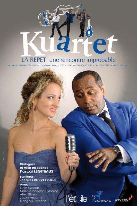 L'improbable rencontre entre une chanteuse lyrique,  et un chanteur de soul musique.