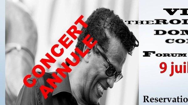 Concert annulé