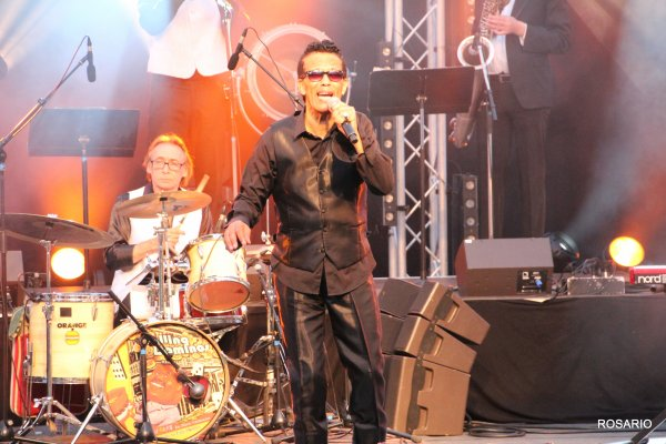 Vigon & The Rolling Dominos au Festival de Musique Franco Américaine de Thiais. Une foule en délire !!!!!!