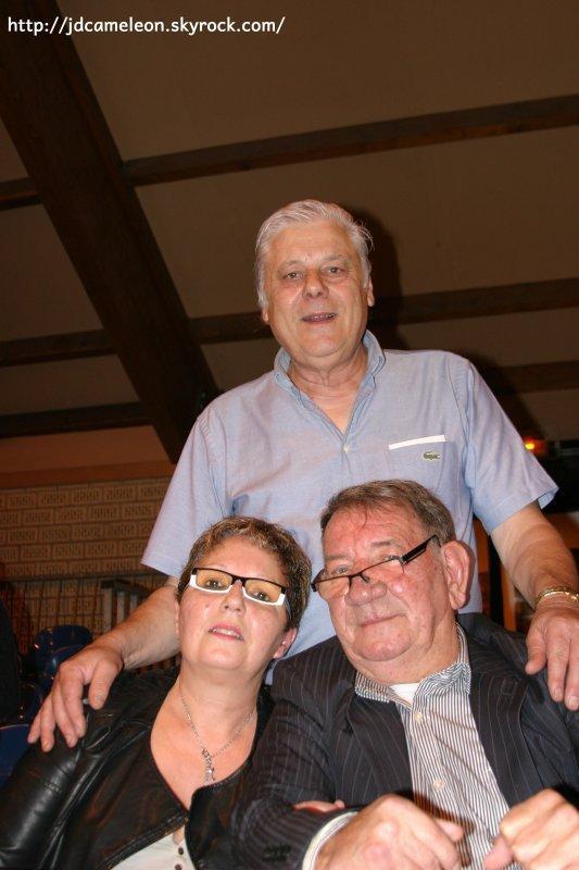 Claudine , Georges et José ( Vieux - Condé concert hommage à Erick Bamy 2015  )