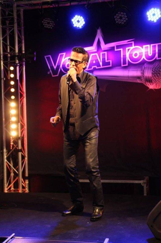 Vigon jury à la finale du Vocal Tour à Avignon au centre commercial nord le samedi 1 octobre 2016