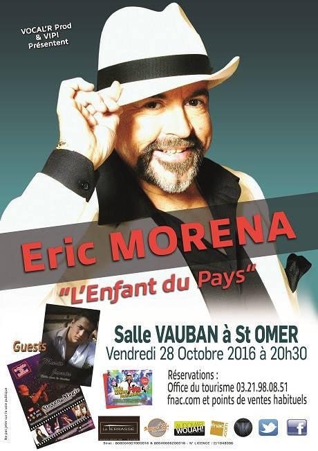 Eric Morena chez nous à Saint Omer