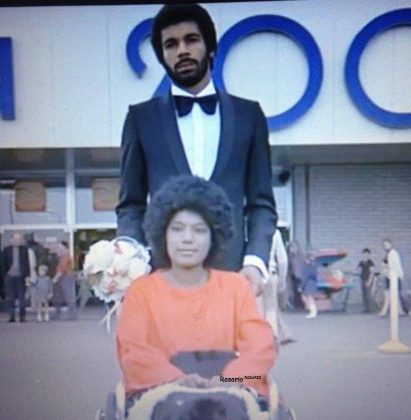 Aujourd'hui fera 2 ans qu' Erick nous a quitté photos Inédites d'Erick Bamy et Maddly en 1973 dans un film de Jacques Brel