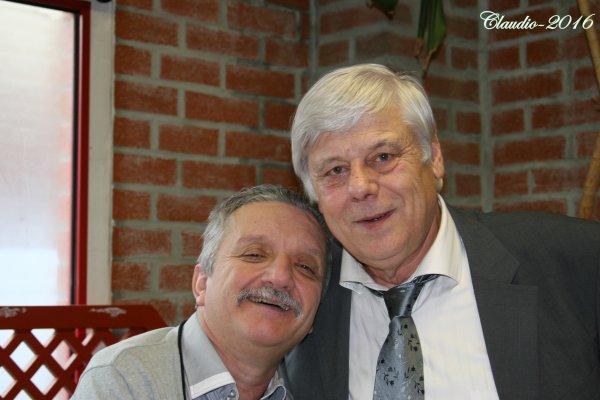 Une bien belle soirée, la suite , José et Bernard Marquigny  ( accordéoniste ) .