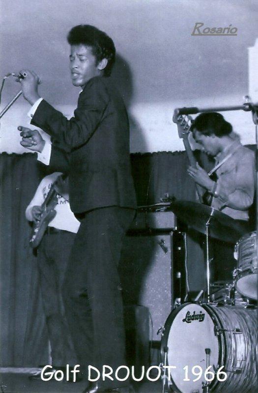 Le Président d'honneur de L'association des Amis du Camèlèon , Vigon en 1966 au Golf Drouot