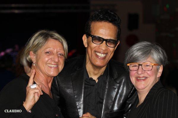 Vigon soirée Bad'In Age avec la ville de Marly et les amis du Caméléon samedi 18 mars 2017 , Evelyne et Marcel Bélurier et José .
