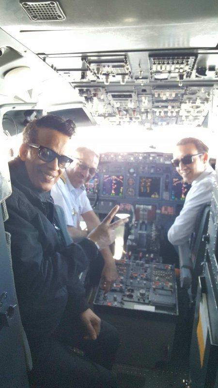 Vigon change de métier et devient pilote de ligne sur Royal Air Maroc