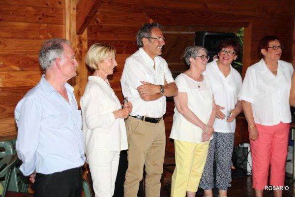 Présentation de Vigon par José  entouré de Fabien et tous ses Amis  .