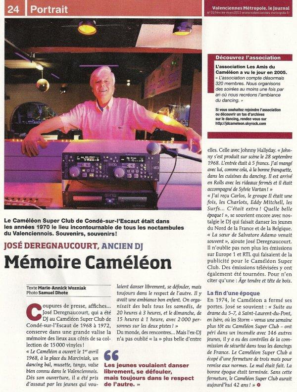 LES MEMOIRES DU CAMÉLÉON ( 1968 - 1974 ) petite erreur informatique ce jour la Johnny était seul et non accompagné de Sylvie qui est venue par la suite en concert au Caméléon avec Carlos  .