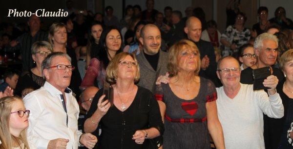 Photos De notre Public - Week-end Salut les Sixties samedi 16  décembre 2017 à Hergnies Salle André Malraux