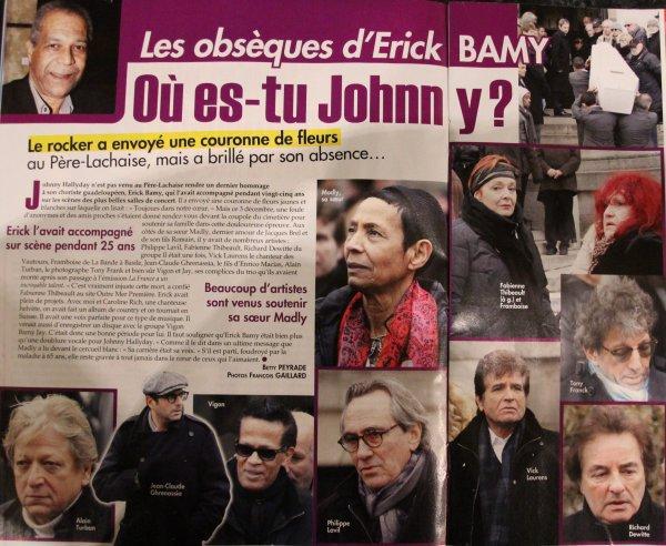 Philippe Lavil le grand copain d'Erick Bamy  .