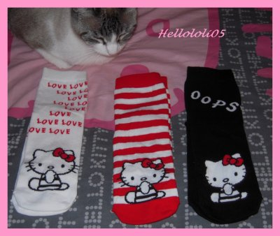 Chaussettes Hello Kitty