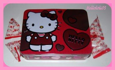 Valisette Hello Kitty + guimauves