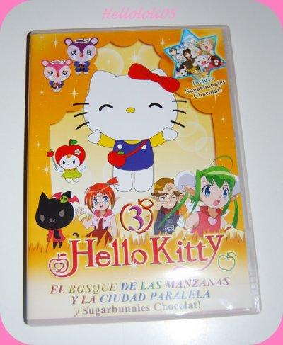 DVD Hello Kitty en espagnol