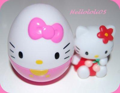 Oeuf surprise Hello Kitty cerise