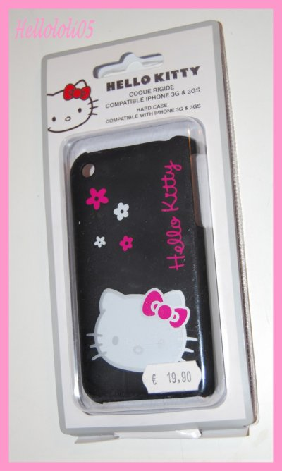 Coque iphone 3G/3GS Hello Kitty