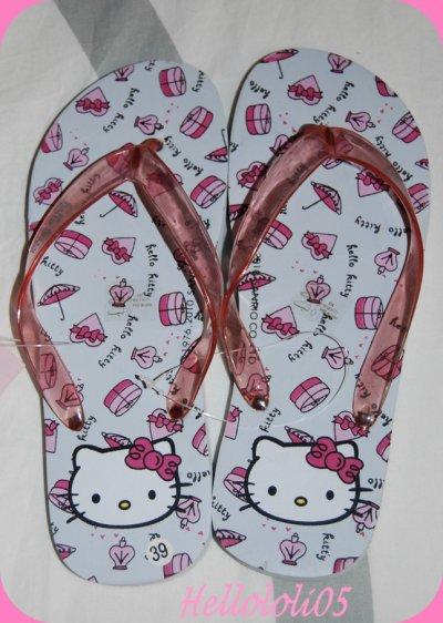 Tongs Hello Kitty