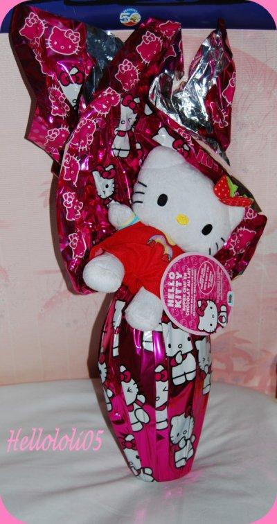 Oeufs de Pâques Hello Kitty