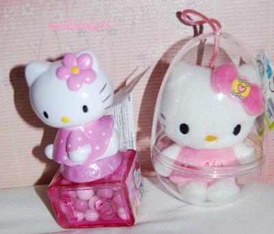 Oeuf et bonbons Hello Kitty