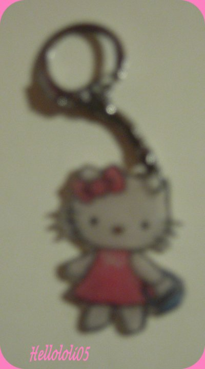 Porte-clef Hello Kitty
