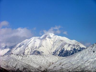 les montagnes du Djurdjura (Kabylie)