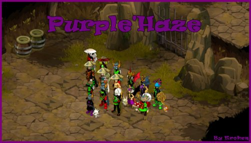 Bienvenue sur le blog officiel de la guilde Purple'Haze